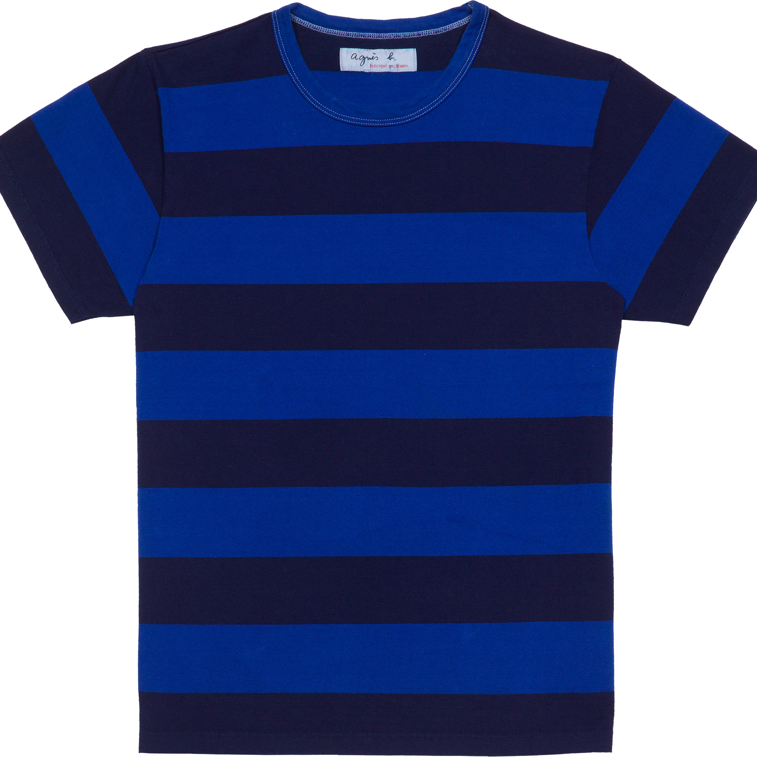 Agnès b. Black / Blue T-shirt Coulos in Black for Men | Lyst