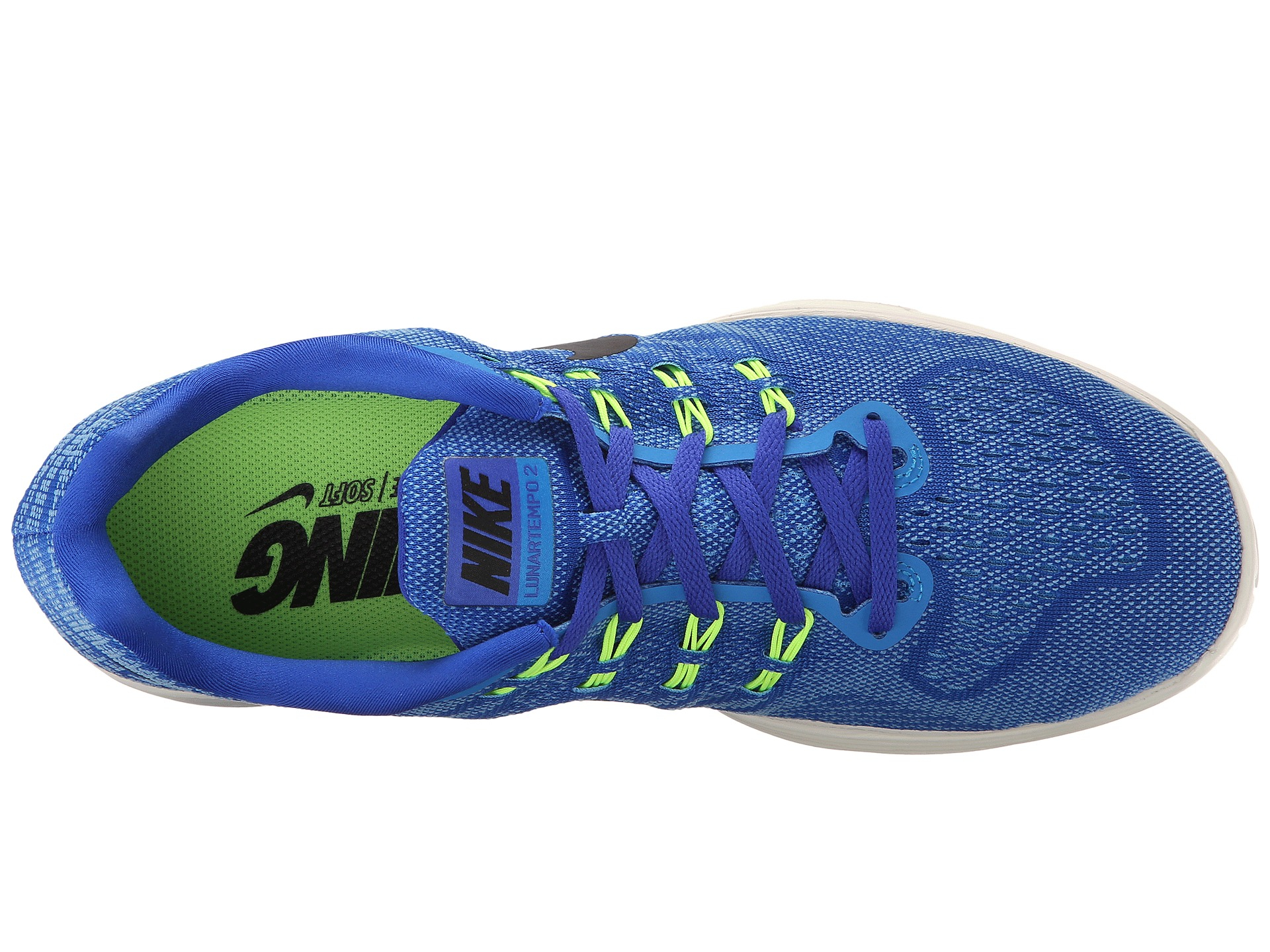 9a271609ff9 ... purchase lyst nike lunartempo 2 in blue for men bdc53 068bf