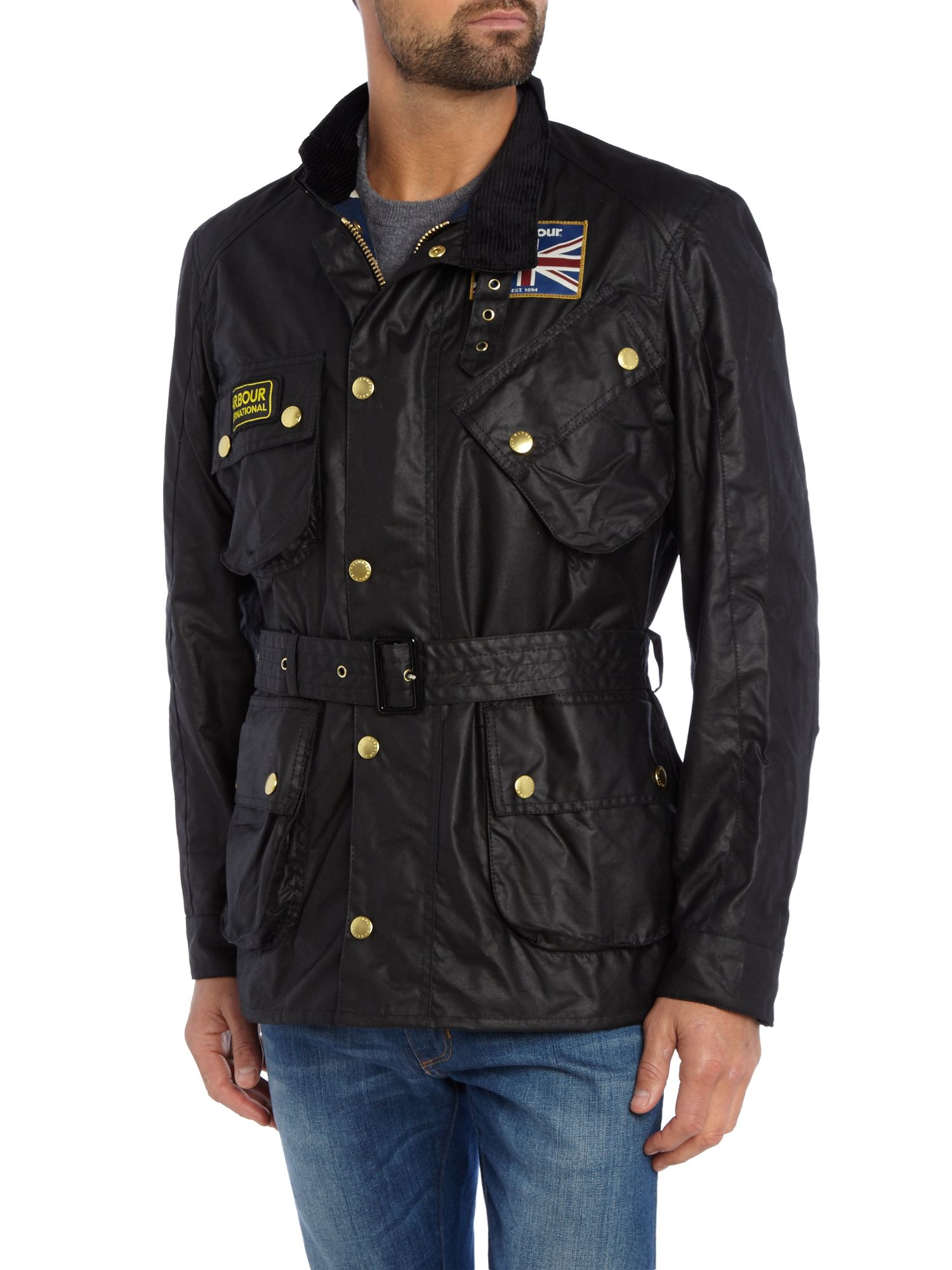 Barbour International Motorcycle Jacket