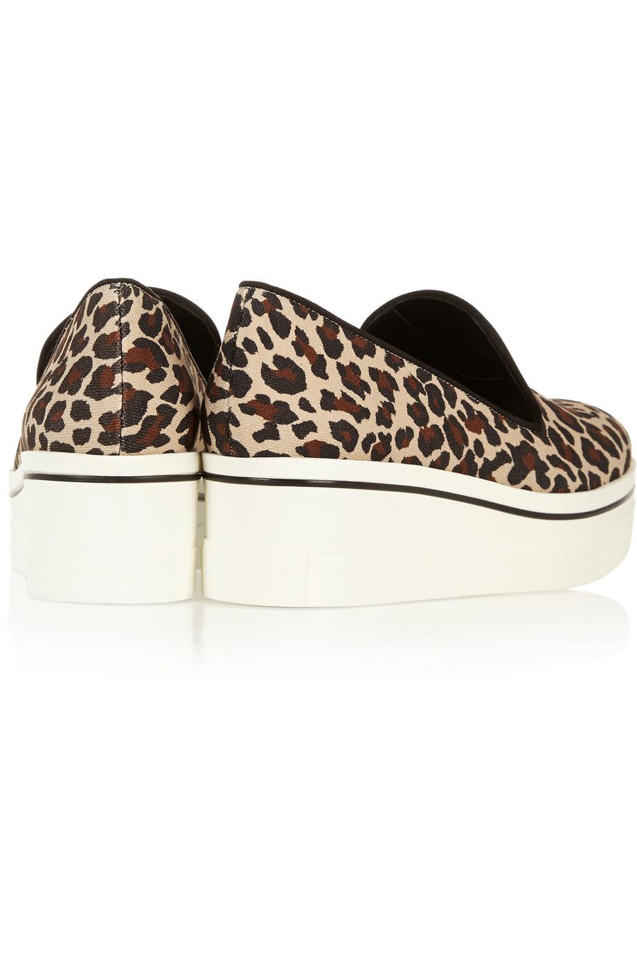 Stella Mccartney Binx Flatform Loafers Lyst