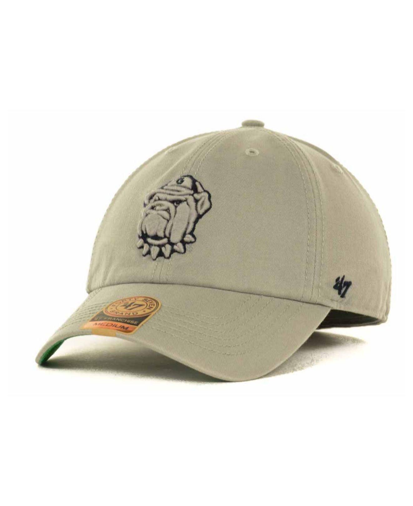 innovative design e54fc e0f54 47 Brand Georgetown Hoyas Ncaa  47 Franchise Cap in Gray for Men - Lyst