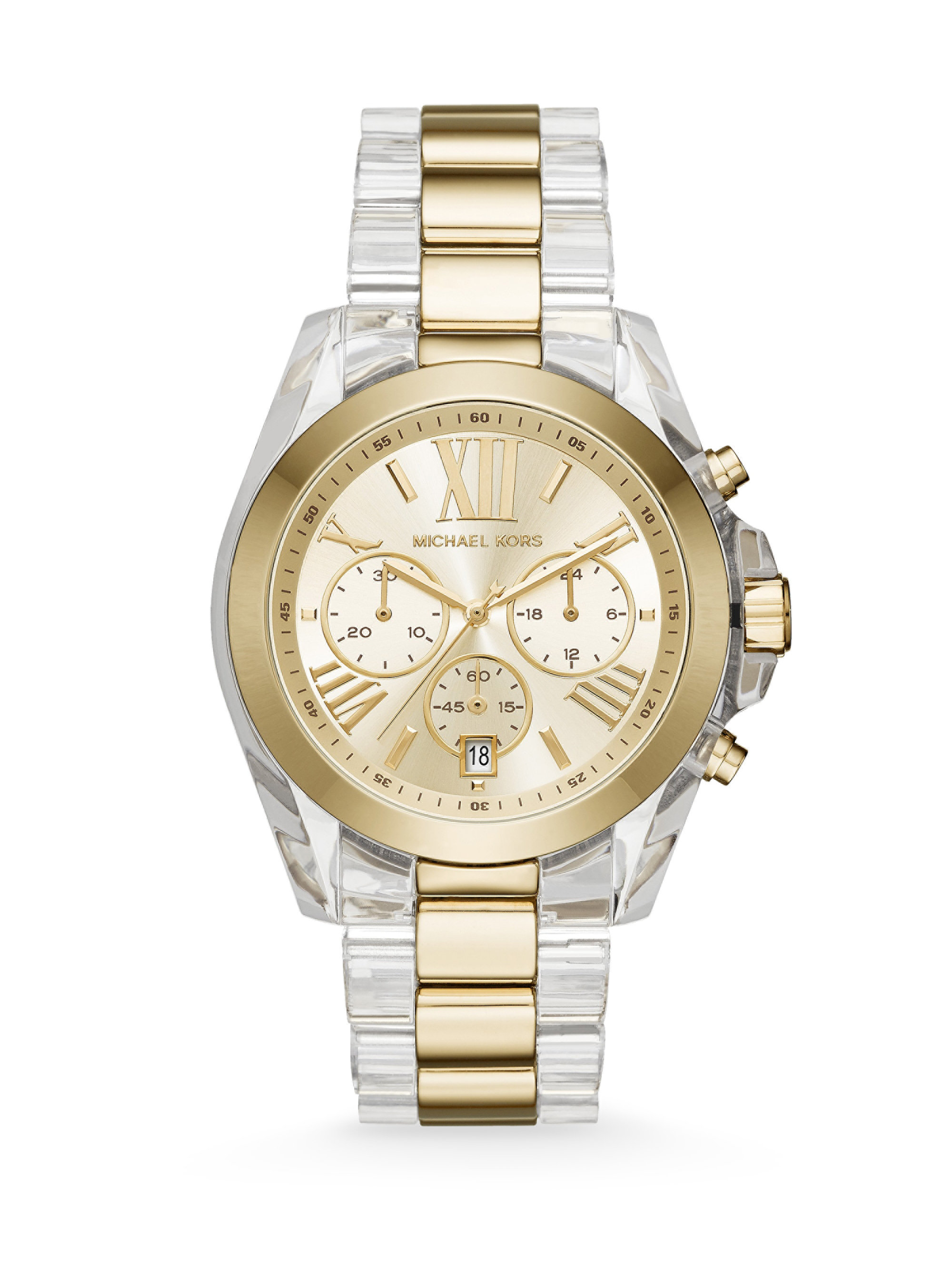 Gallery Previously Sold At Saks Fifth Avenue Men S Michael Kors Chronograph