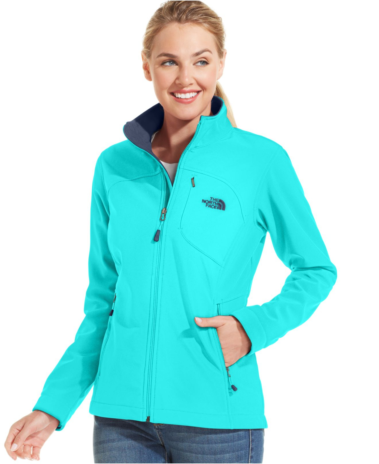 Lyst - The North Face Apex Bionic Soft-Shell Jacket in Black 38b81786d6
