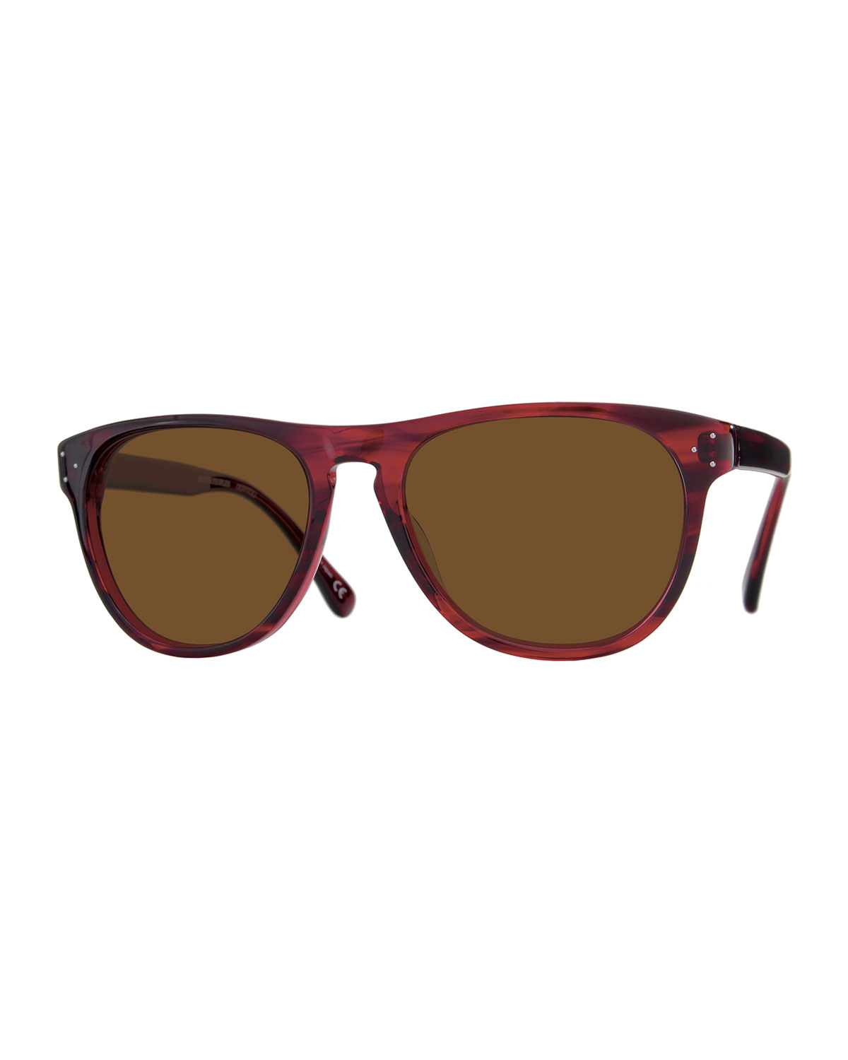 ad6657706d Lyst - Oliver Peoples Daddy Oversize Square Sunglasses in Red