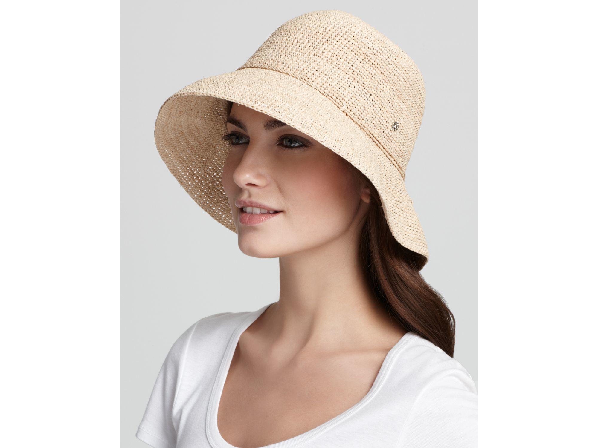 fb59c56f Helen Kaminski Provence 8 Raffia Hat in Natural - Lyst