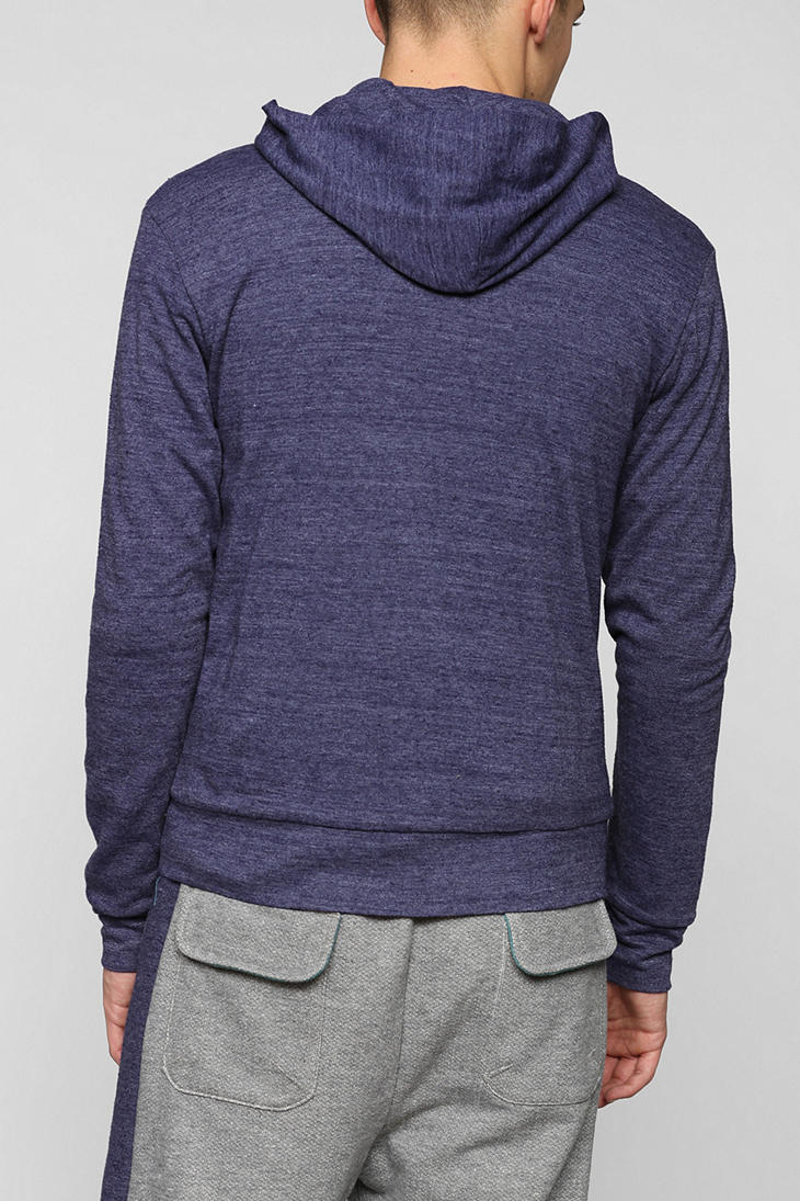 Lyst Urban Outfitters Alternative X Uo Triblend Zip Up