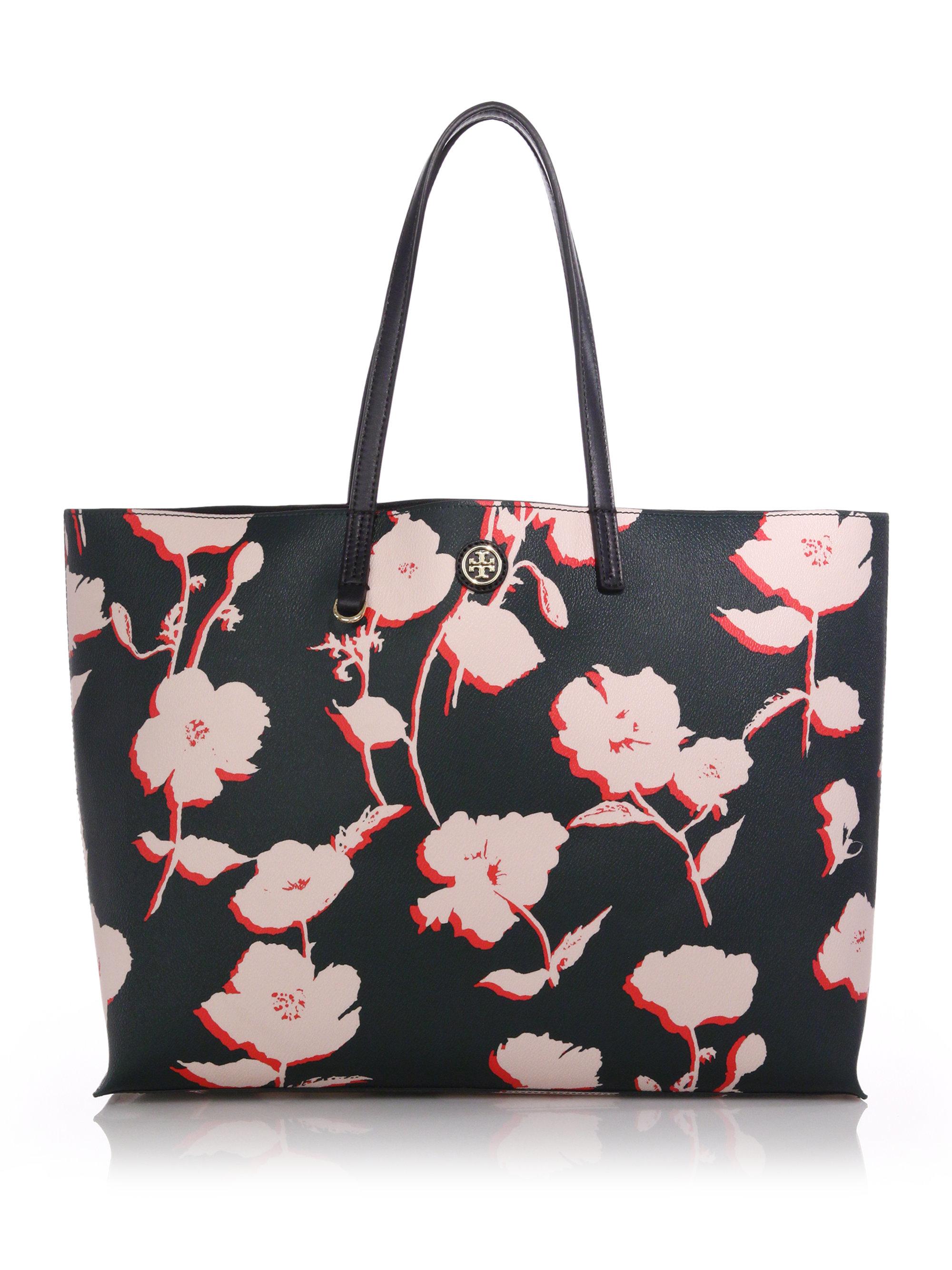 9e97cedafa1 Floral print leather handbags