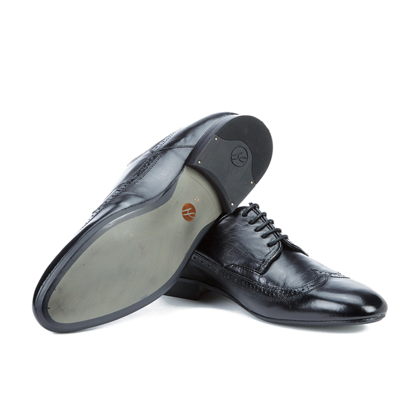Hudson London Leather Derby Shoes