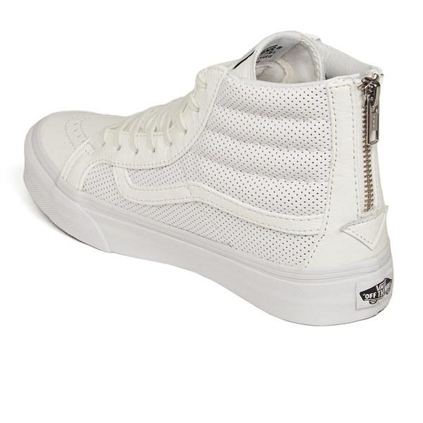 Vans Women s Sk8-hi Slim Zip Perforated Leather Hi-top Trainers in ... 1b4b8193f