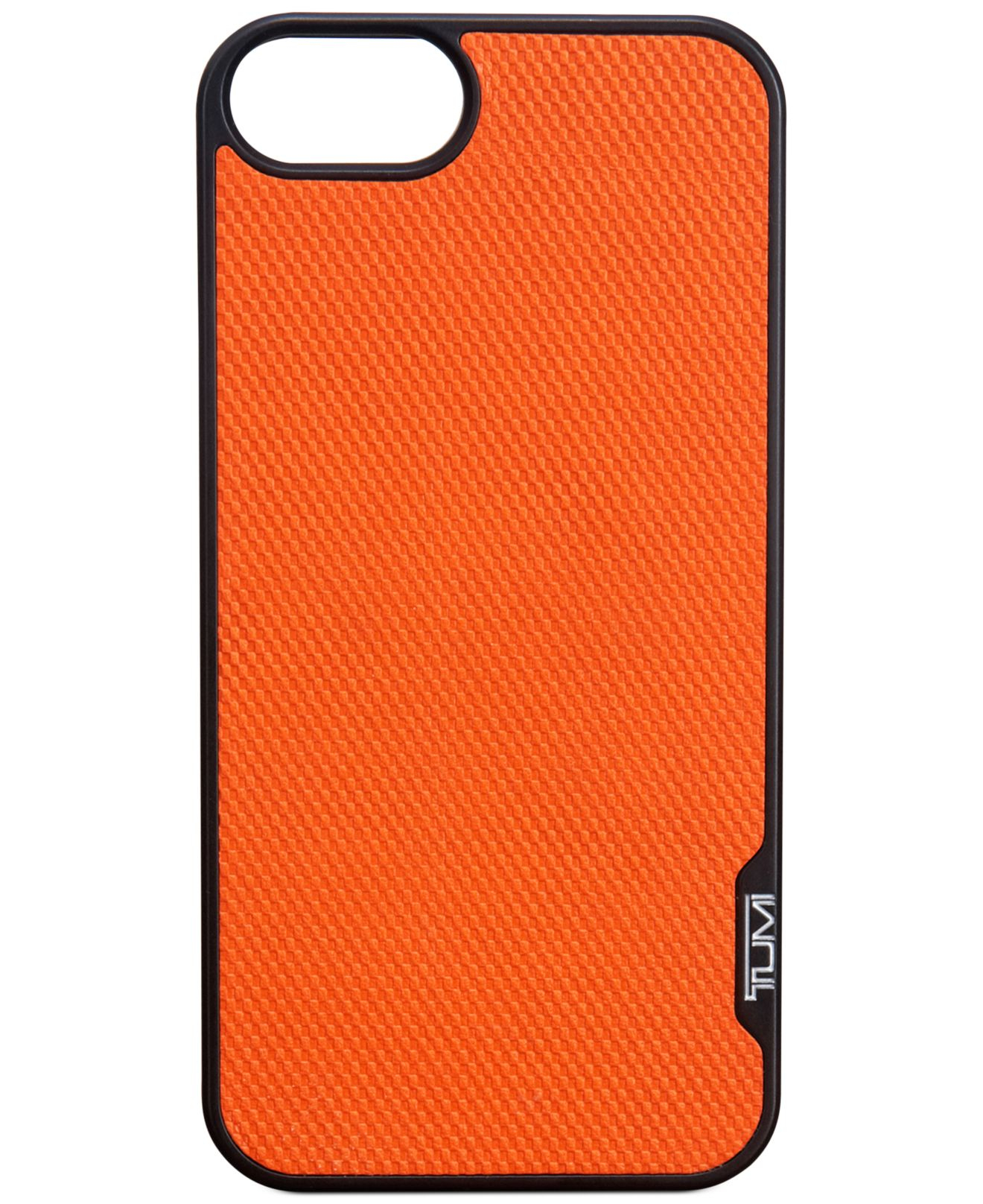tumi iphone 5 5s cover in orange for men lyst. Black Bedroom Furniture Sets. Home Design Ideas