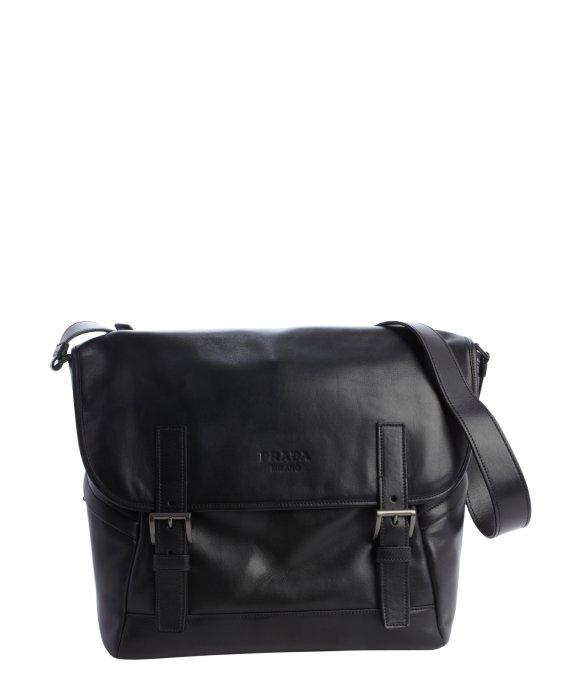 prada brown leather satchel - prada grey messenger bag