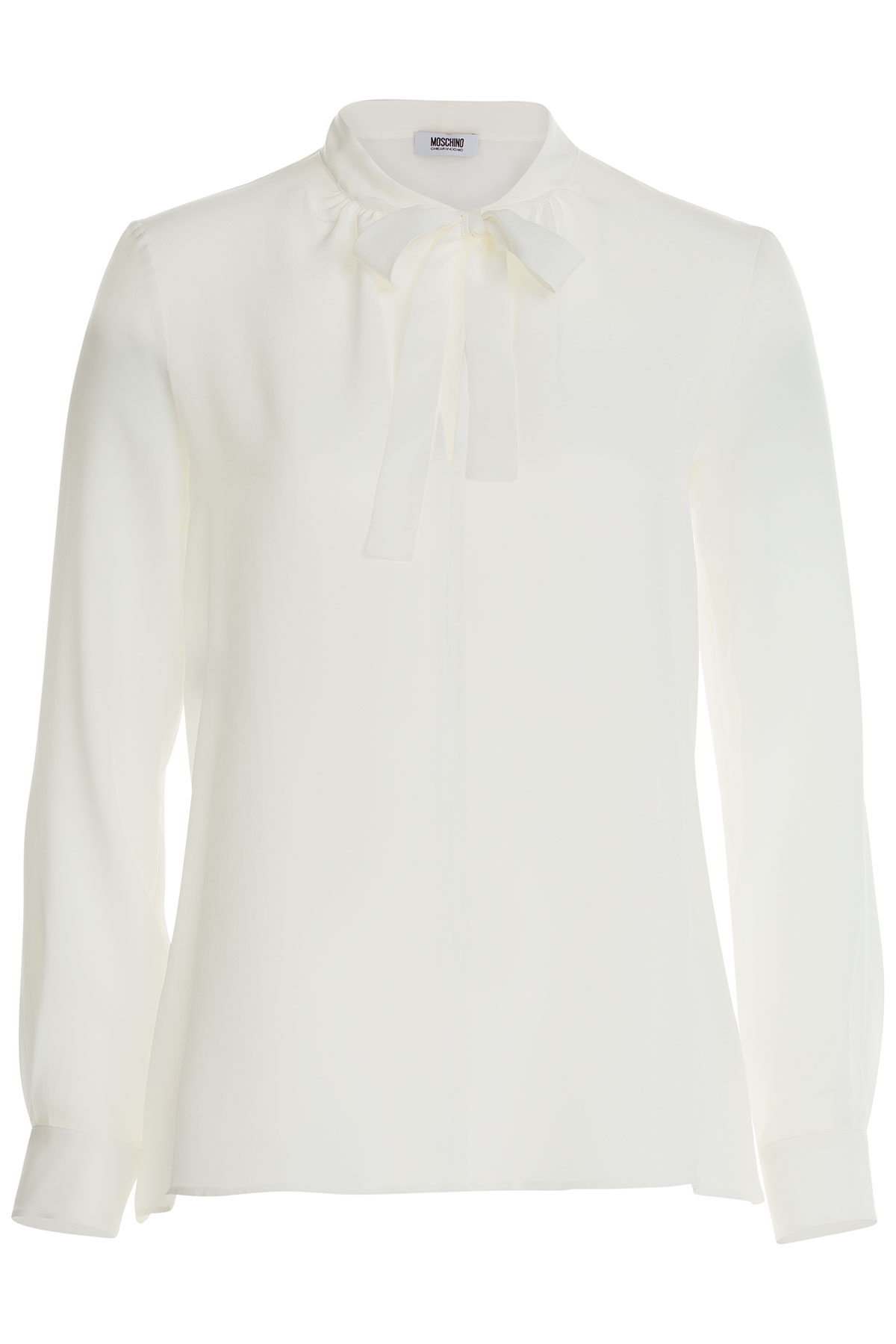 Lyst - Boutique Moschino Moschino Cheap And Chic Silk Blouse With ... a733aaedd5f