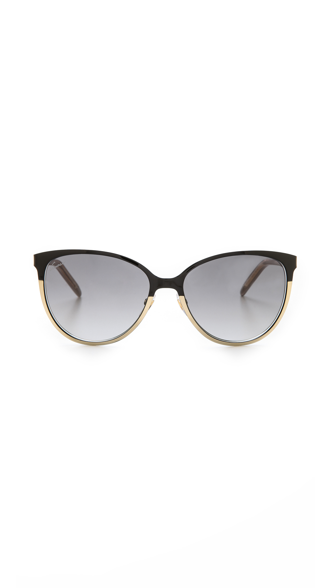 8ef606a409 Gucci Cat Eye Sunglasses Brown