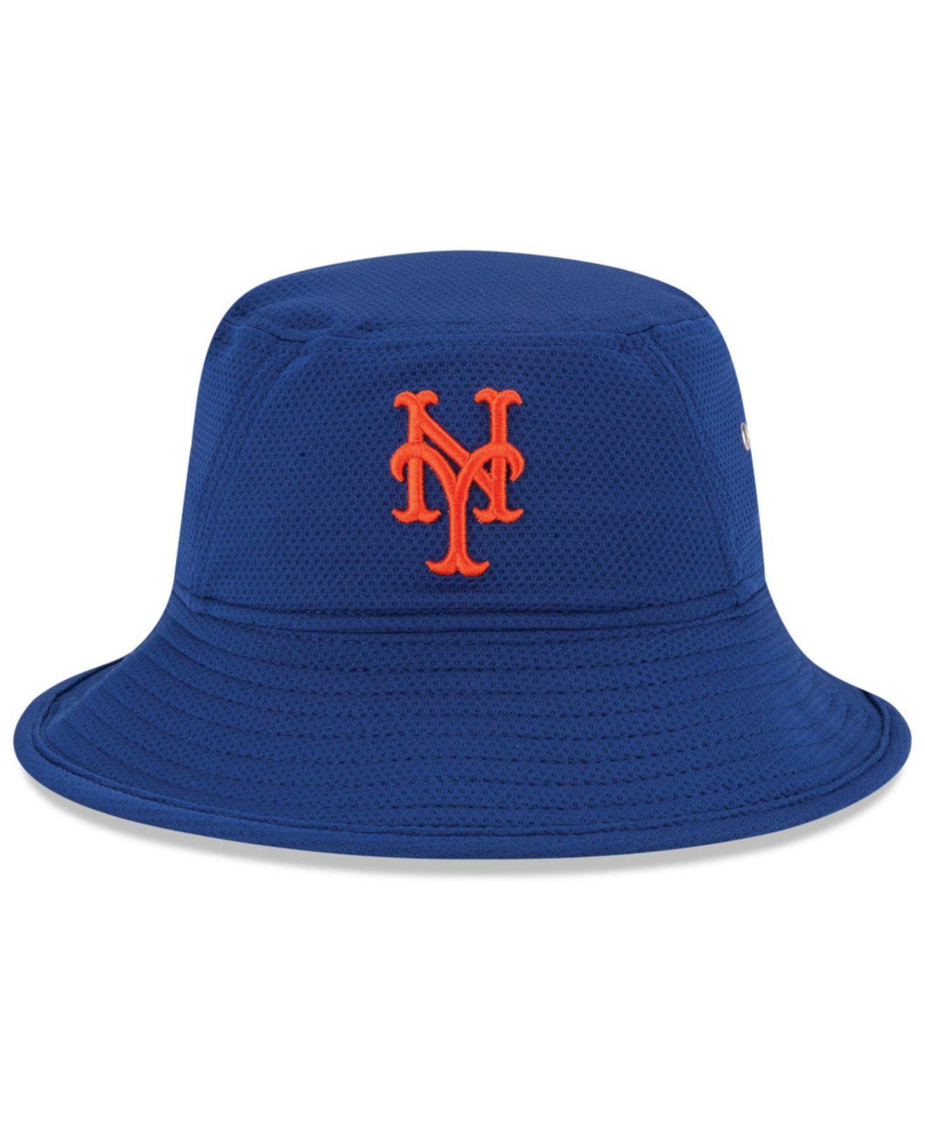 meet 94a33 419e0 closeout new new era york black mets mlb bucket dub cap dd4a1 508c3  uk lyst  ktz new york mets redux bucket hat in blue 6201e 941e2
