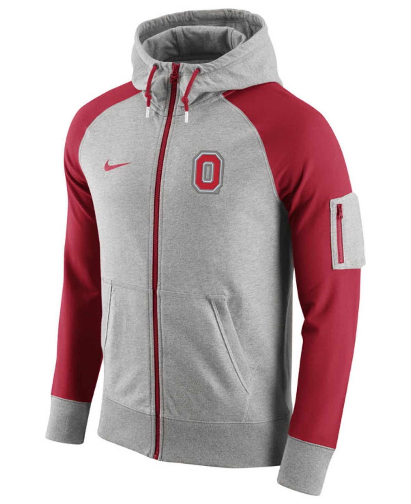 Nike Mens State Buckeyes Sweatshirt Hooded Pullover Ohio Therma 7znd7v
