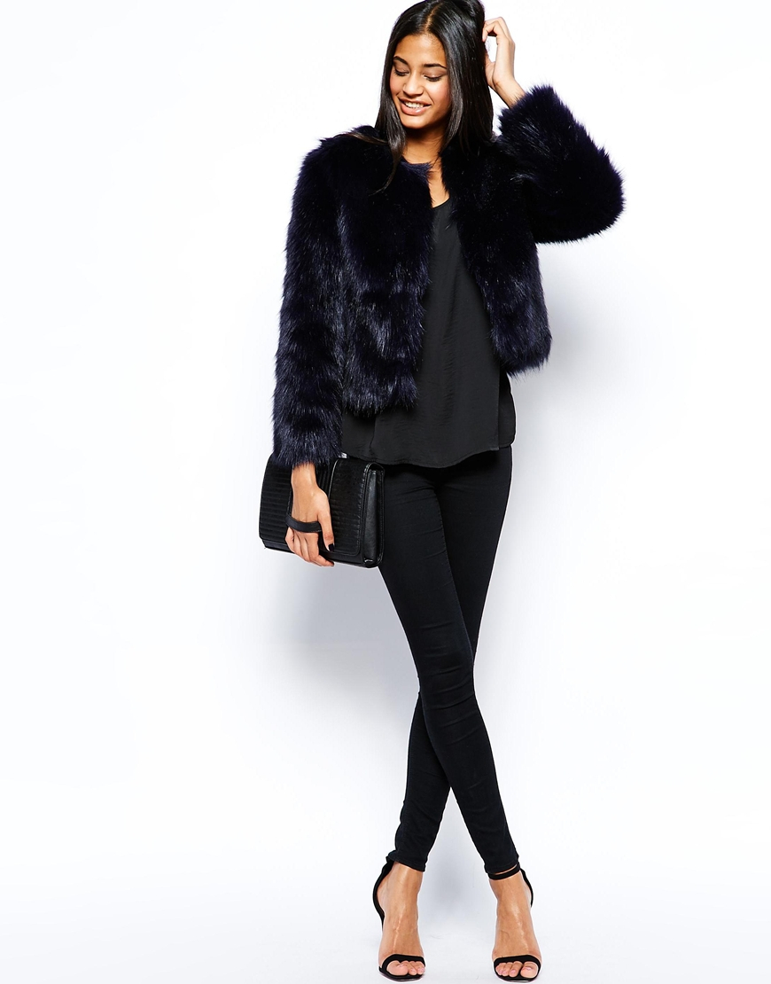 Short Black Faux Fur Coat Uk - Tradingbasis