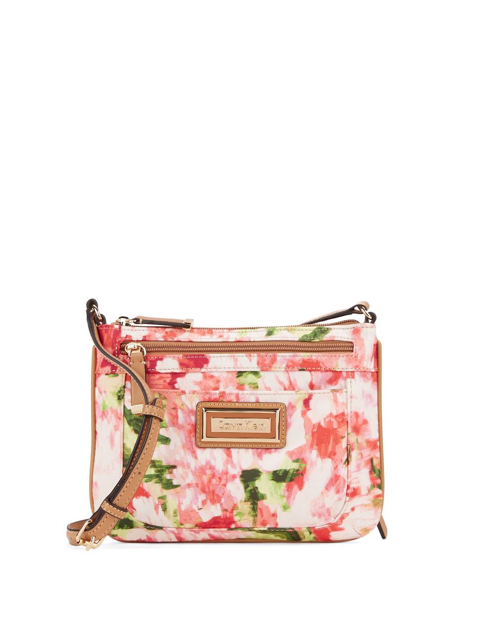 Lyst - Calvin Klein Crossbody Bag In Pink