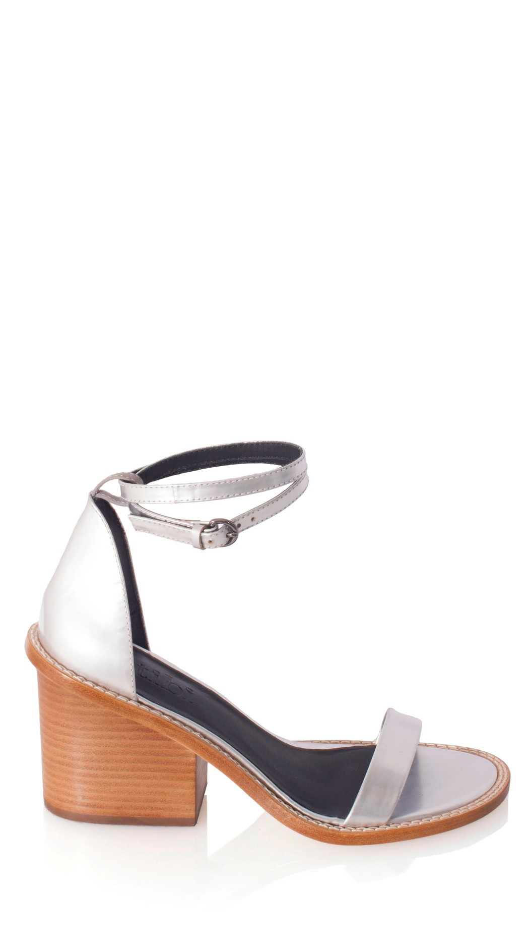 Tibi Metallic Leather Sandals cheap visit new marketable sale online jDXzJXt