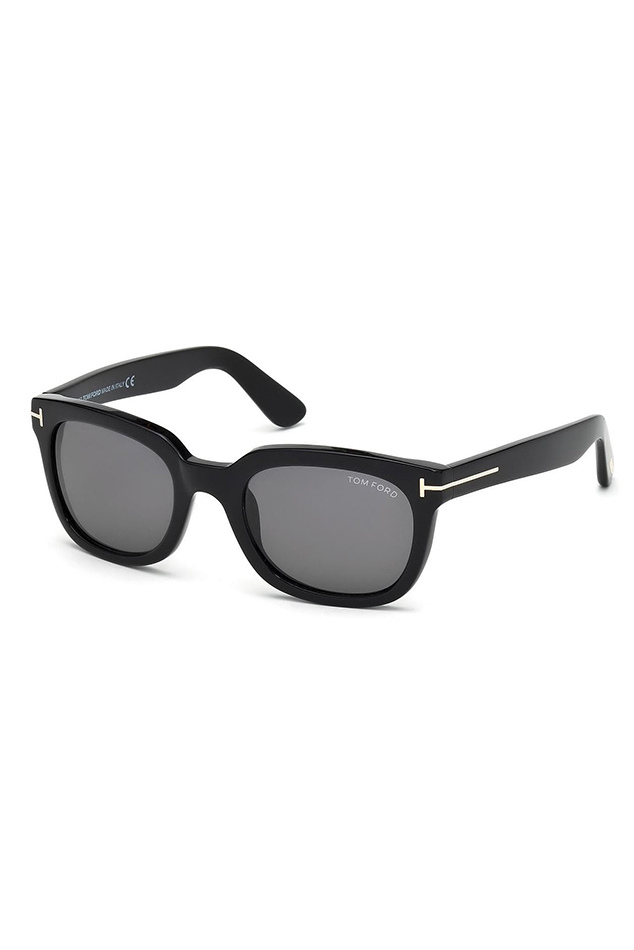 Tom ford Campbell Sunglasses in Black | Lyst