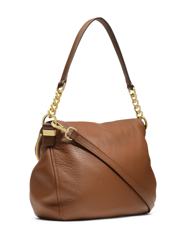 cc1ecaef89bd Michael Kors Michael Medium Weston Convertible Shoulder Bag in Brown ...
