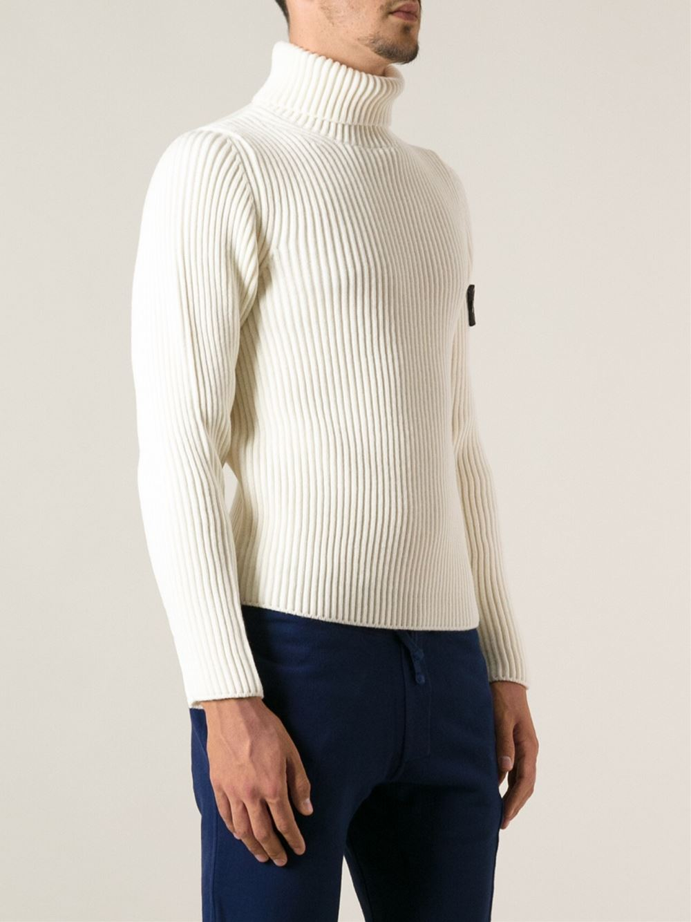 Stone Island Roll Neck Jumper
