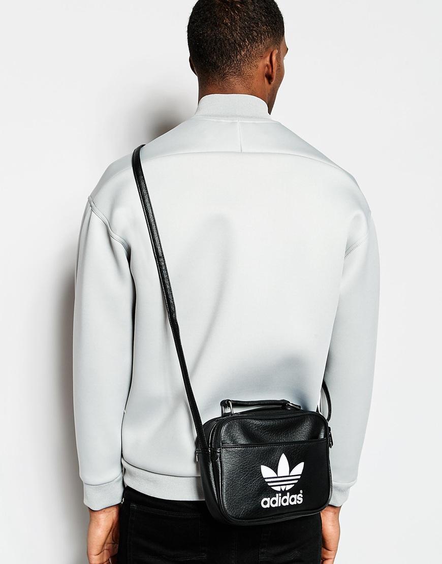 4424a5fc5652 Lyst - adidas Originals Mini Airliner Flight Bag in Black for Men
