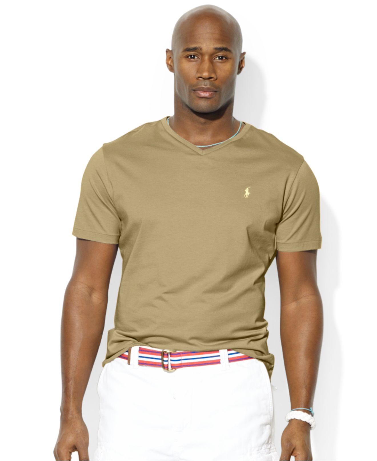 Lyst Polo Ralph Lauren Big And Tall Solid Jersey T Shirt