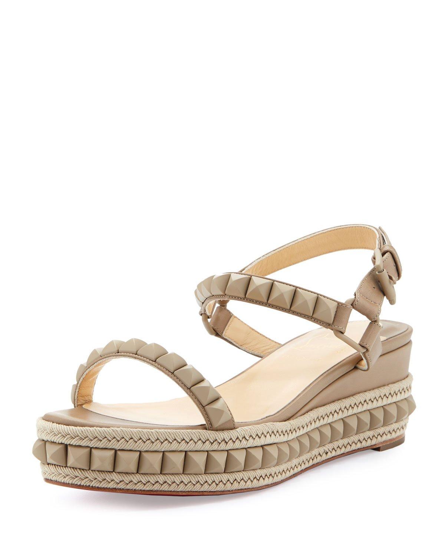 Beige Christian Louboutin Men Shoes