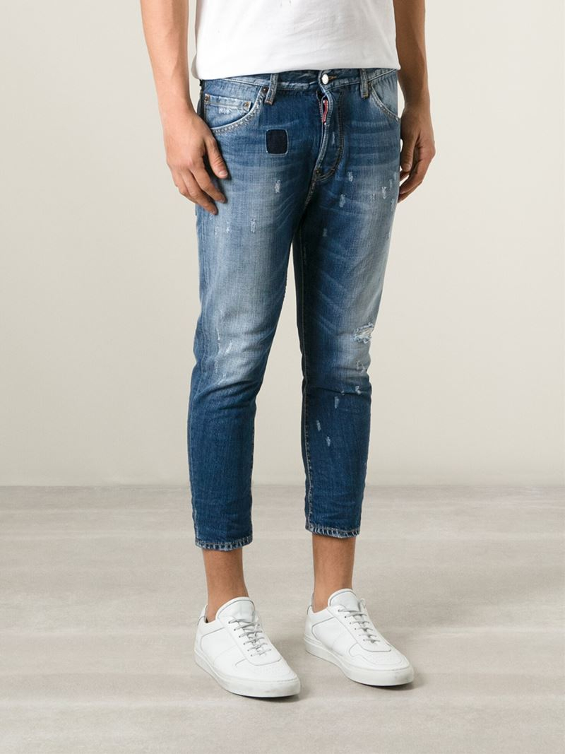 cropped trousers Dsquared2 mS6E6