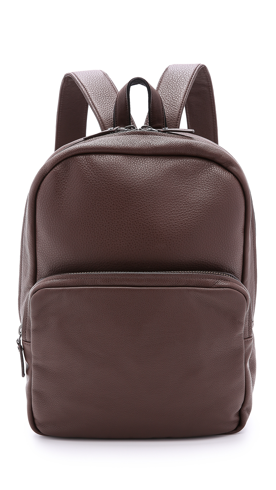 Rolf S Nyc Marc By Marc Jacobs Classic Leather Backpack In Brown For
