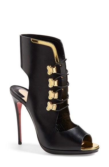 vuitton mens shoes - christian louboutin lace-up satin sandals, fake louboutins