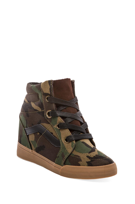 eaa479573e Lyst - Vans Sk8hi Wedge Sneaker in Olive in Green