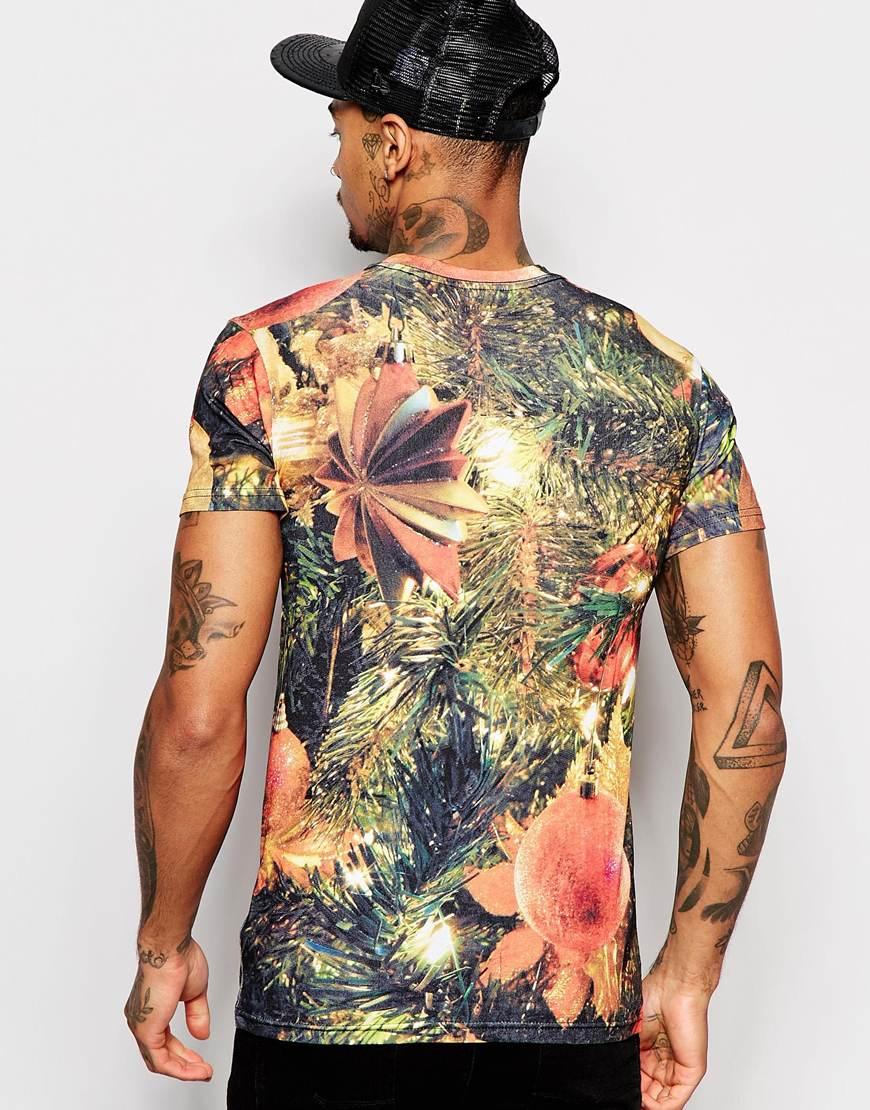 Black xmas t shirt - Gallery