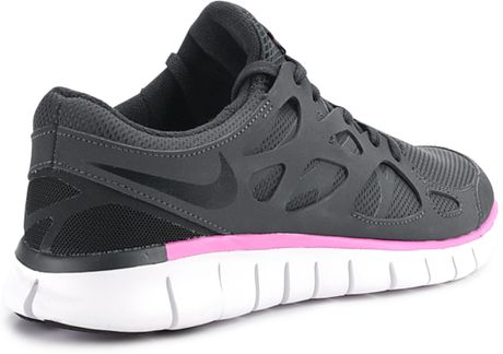 nike nike free run 2 ext fashion trainers in black for men. Black Bedroom Furniture Sets. Home Design Ideas