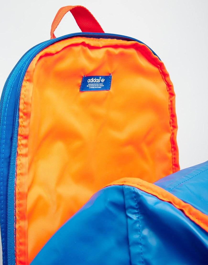 ... huge inventory 80e51 1d7ef Lyst - Adidas Originals Zx Backpack in Blue  for Men ... 0796e1e932