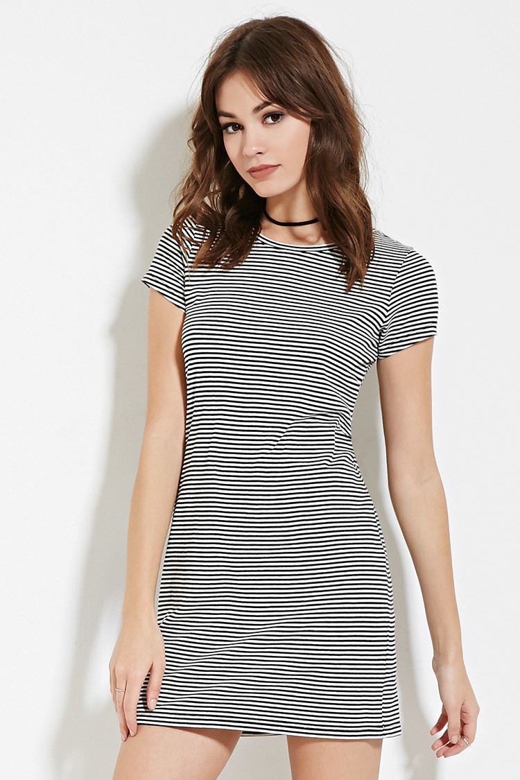 T shirt dress black and white - Gallery Women S T Shirt Dresses