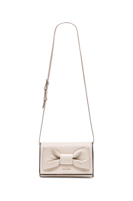 88ecc4e7d28a Lyst - Kate Spade Catherine Crossbody Bag in Natural