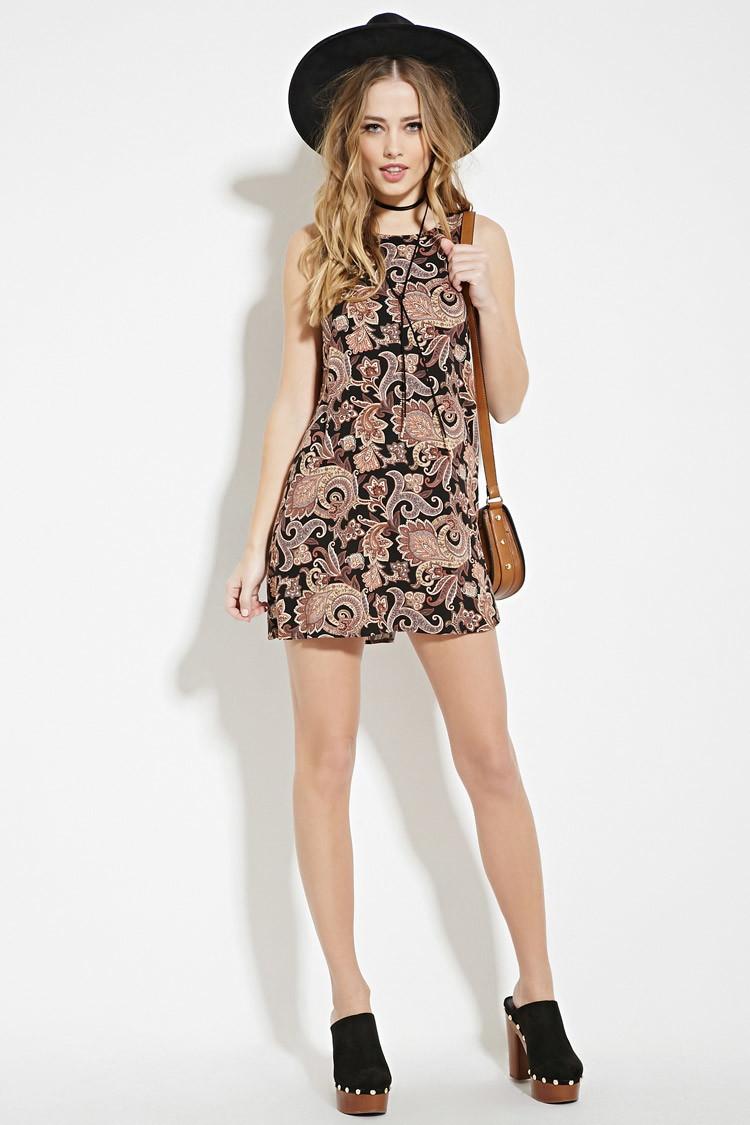 Paisley Mini Dresses