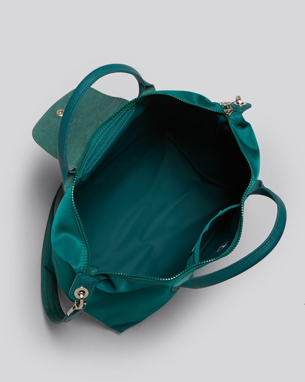 8aebe3e1f7a1 Lyst - Longchamp Tote Le Pliage Neo Medium in Green