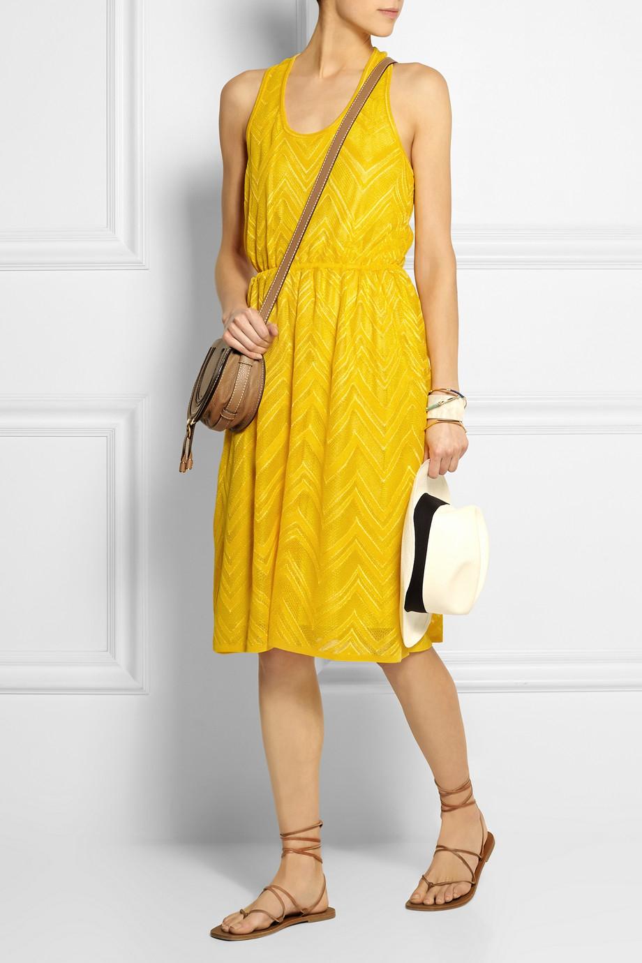 M missoni yellow dress