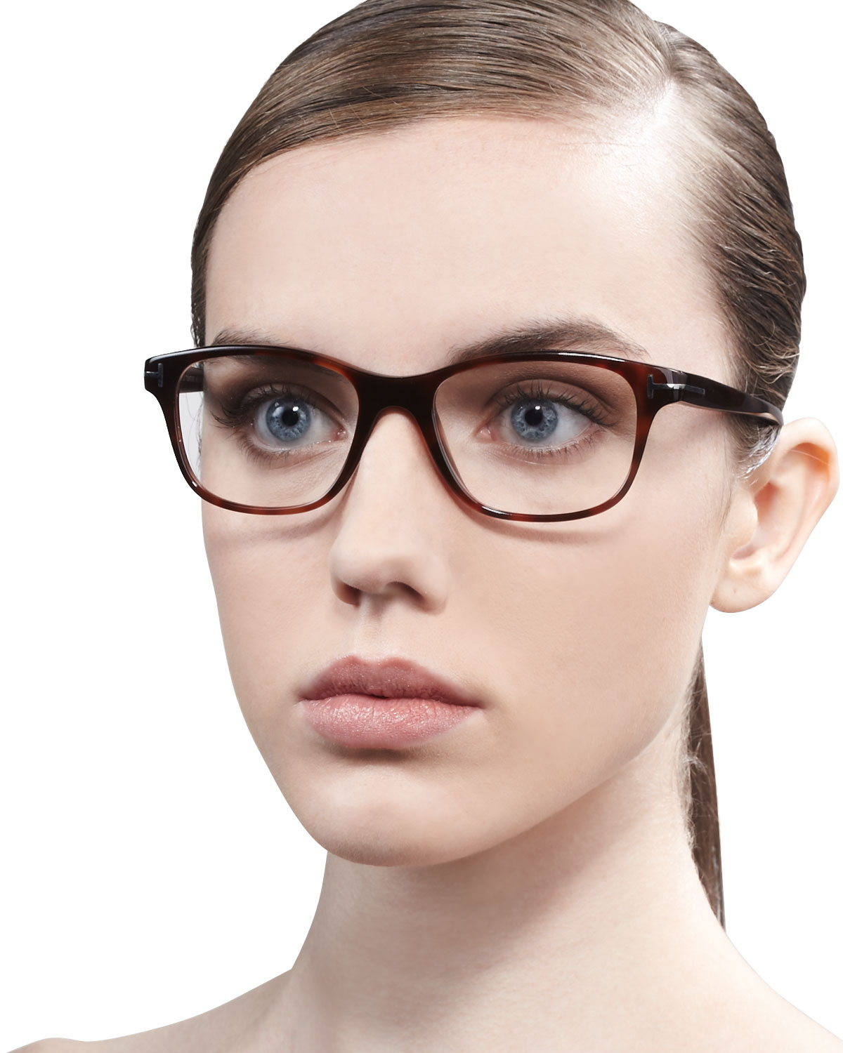 Lyst Tom Ford Unisex Semirounded Square Fashion Glasses