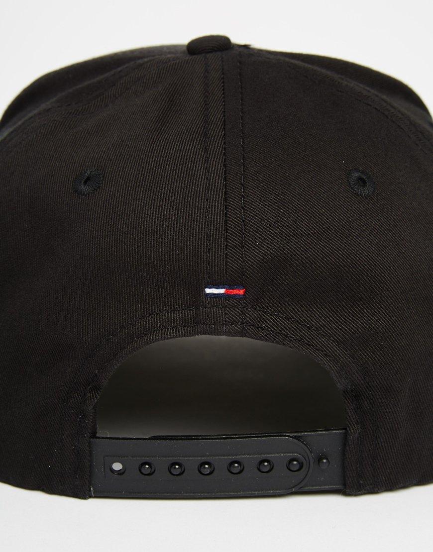 Tommy Hilfiger Jan Cap in Black for Men - Lyst e2ab3524730