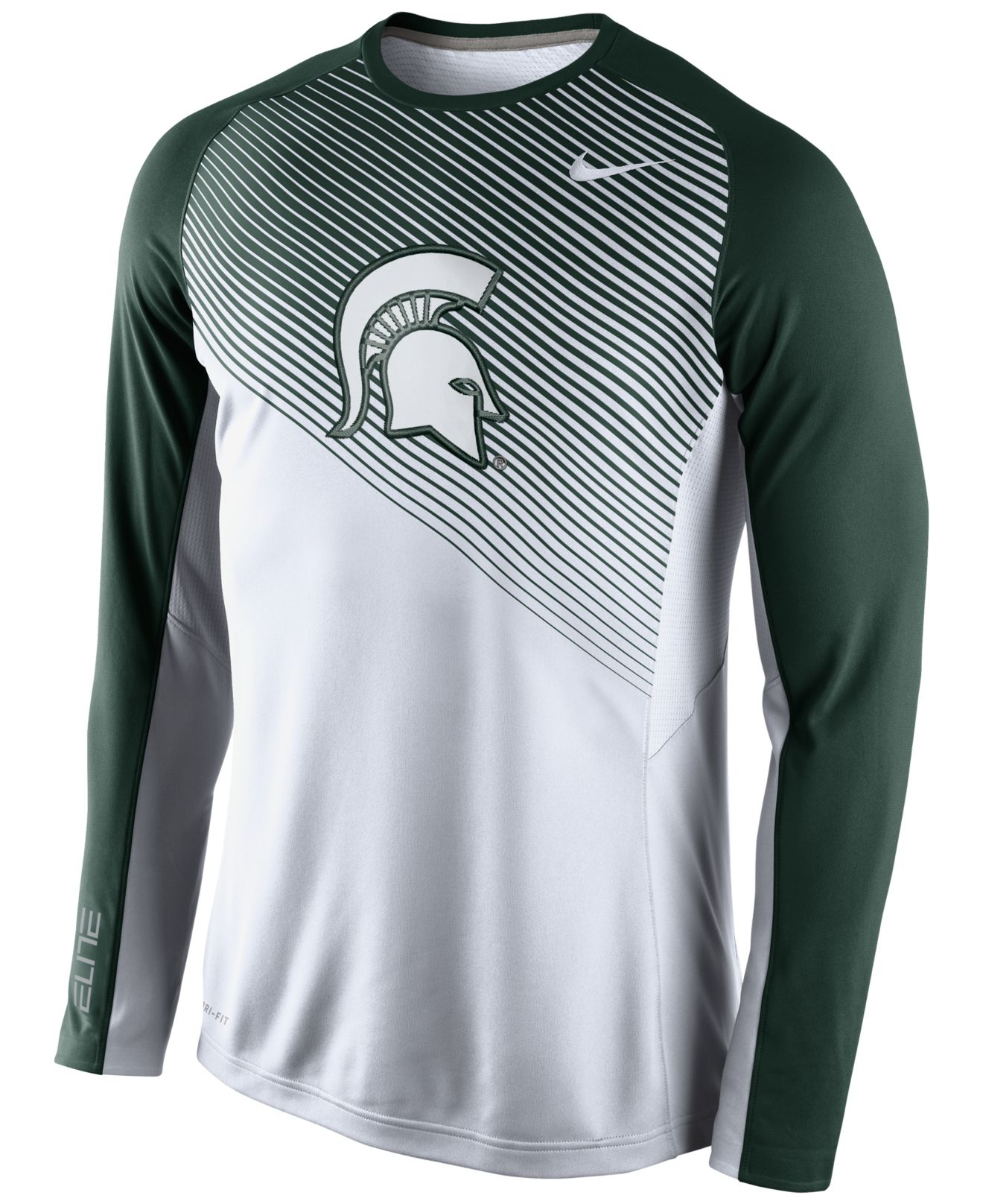 Lyst - Nike Men'S Long-Sleeve Michigan State Spartans ...