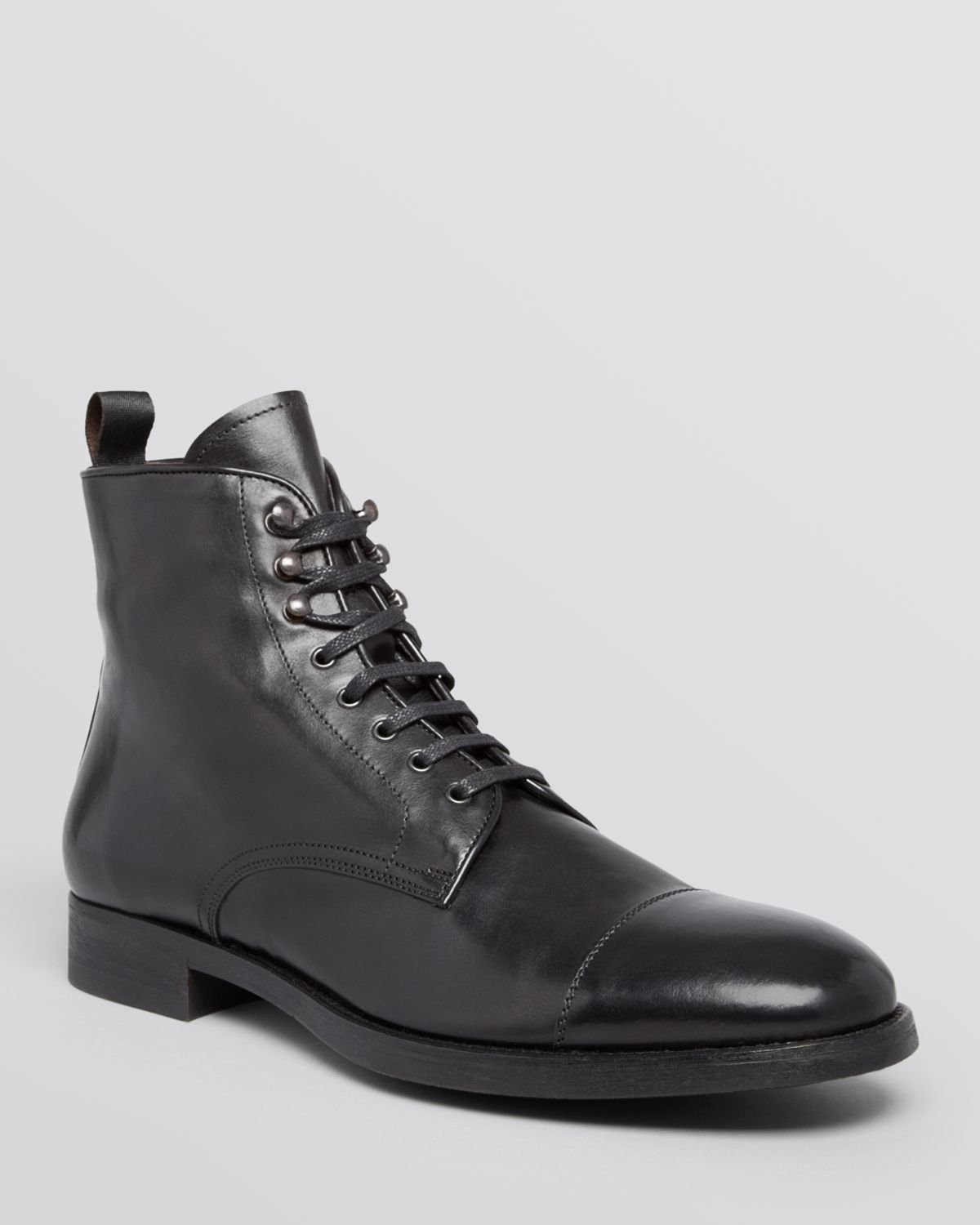 To Boot Stallworth Cap Toe Boots In Black For Men Lyst