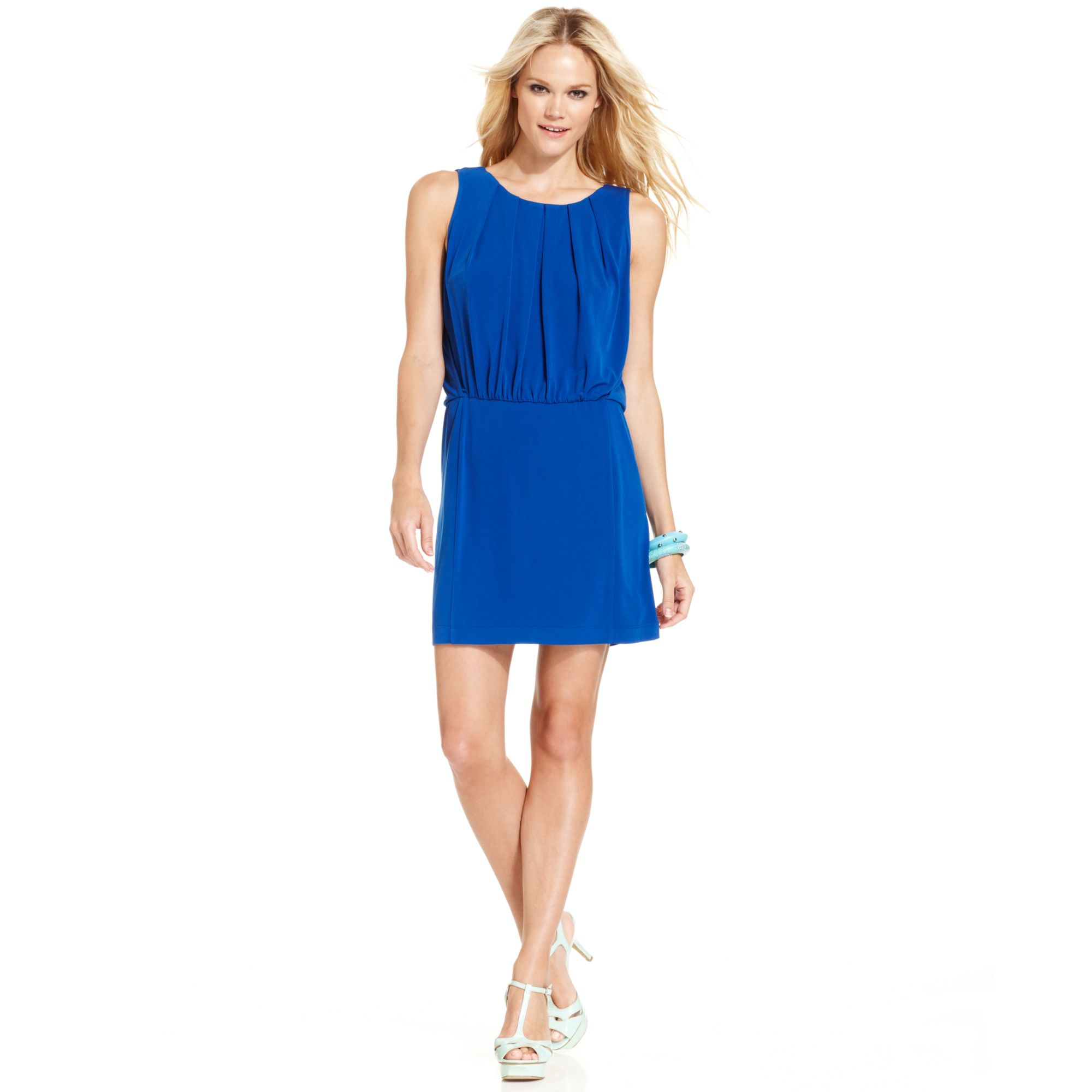 Blue jessica simpson dress