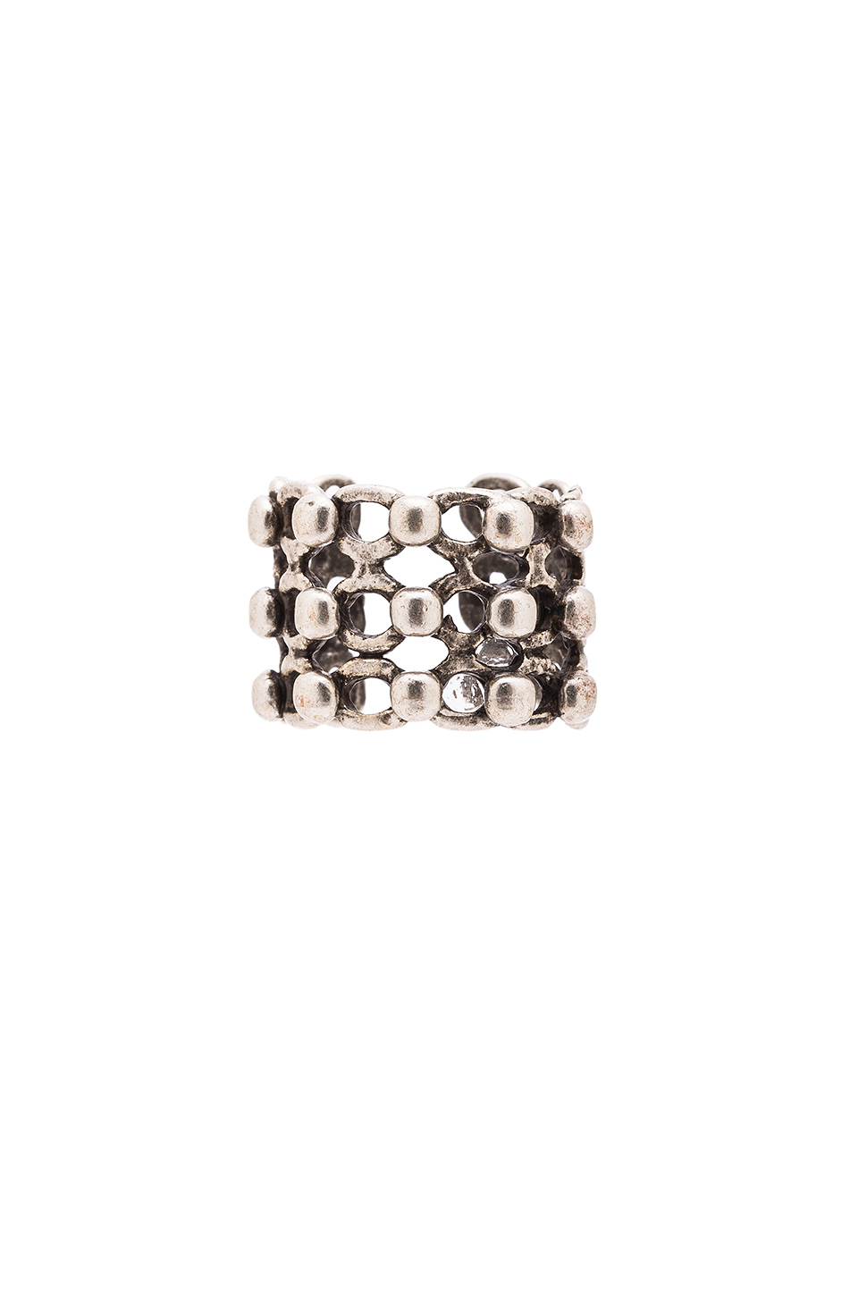 Natalie B Jewelry Odyssey Ring in Metallic Silver