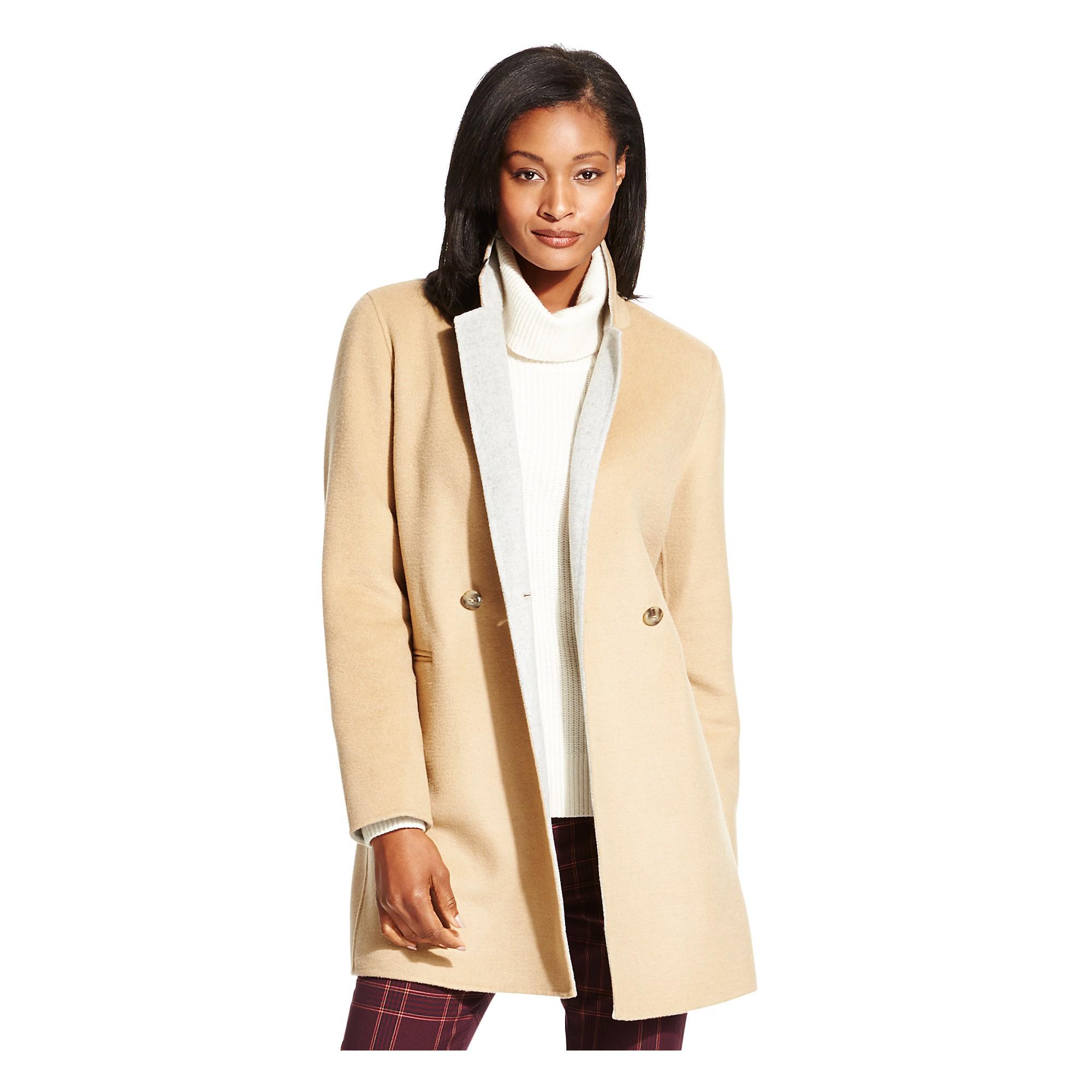 tommy hilfiger lightweight wool cashmere coat in beige camel light. Black Bedroom Furniture Sets. Home Design Ideas