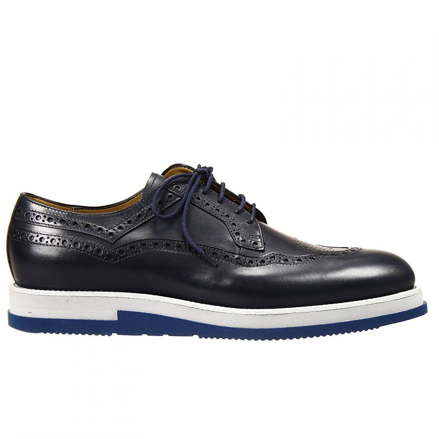 cesare paciotti lace up shoes derby leather micro sole in