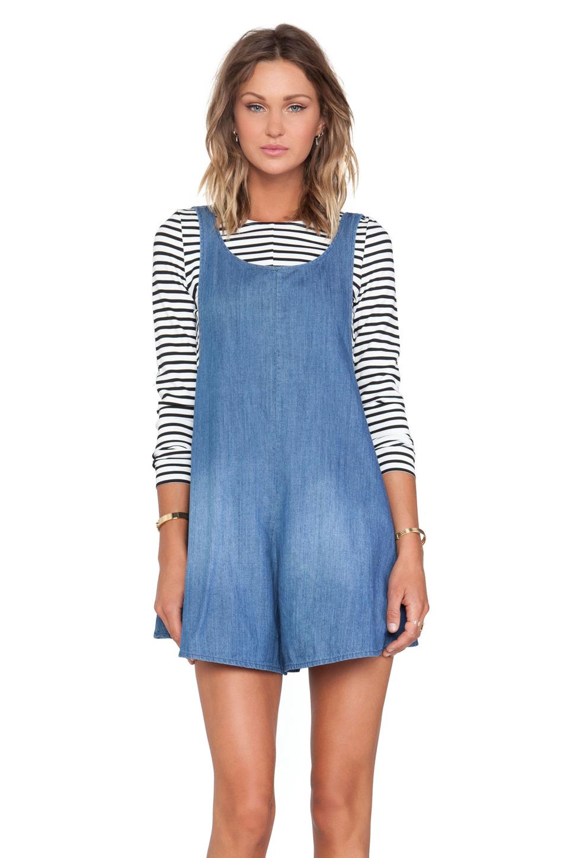 9237cb38871b Lyst - Alice McCALL Sahara Noir Playsuit in Blue