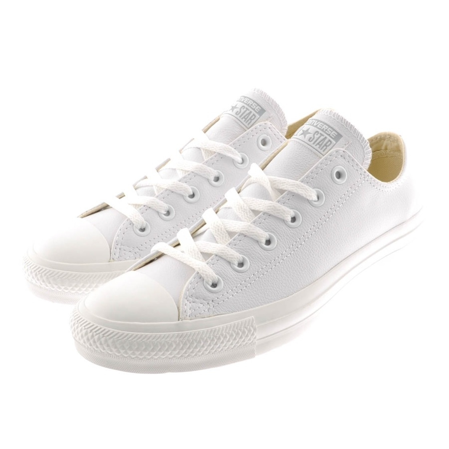 how to clean white leather converse